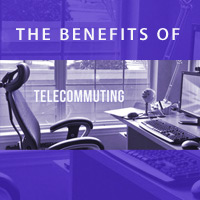 Telecommuting saves time, money and the environment